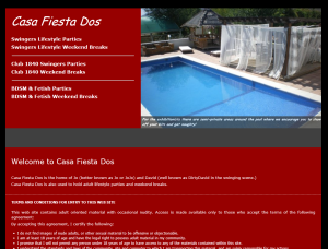 casa fiesta dos - swingers holidays in spain